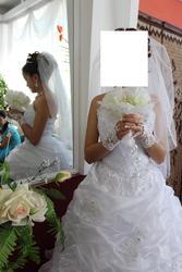 Свадебное платье семей