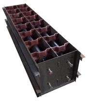 Формы для производства пазогребневых  пеноблоков серии Robus