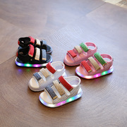 детские горящие сандали